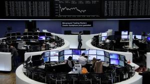 Euro bremst Aktienmarkt