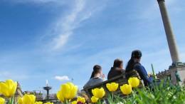 Deutsches Wetter kratzt am April-Rekord