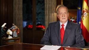Eklat bei Weihnachtsansprache des spanischen Königs