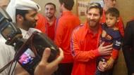Kleiner afghanischer Messi-Fan trifft sein Idol