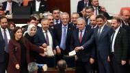 Parlament stimmt bei weiteren Artikeln im Sinne Erdogans ab