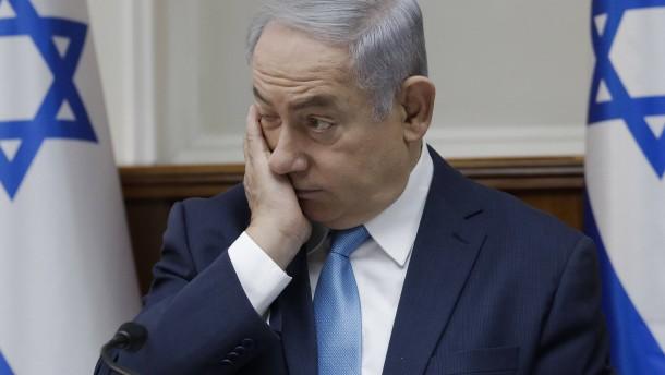 Netanjahu im Fadenkreuz der Justiz