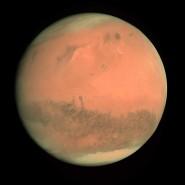 ARCHIV - 24.02.2007, ---: HANDOUT - Die Aufnahme der Europäischen Weltraumagentur ESA/ESOC von Februar 2007 zeigt den Planeten Mars. Foto: esoc/ESA/dpa +++ dpa-Bildfunk +++