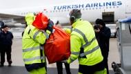 Deutsche Stimmzettel auf dem Weg nach Ankara