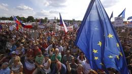 Tschechen fordern Rücktritt des Regierungschefs