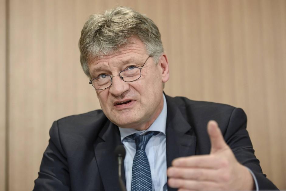 """Hatte """"Sorge, dass es zu radikal wird"""", ist mit dem Wahlprogramm jetzt aber """"ganz zufrieden"""": Jörg Meuthen"""