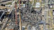 Hoffnungsträger: Die Raffinerie-Anlage Miro in Karlsruhe