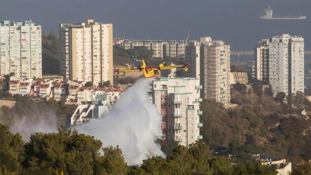 Palästinenser weisen Vorwurf der Brandstiftung zurück