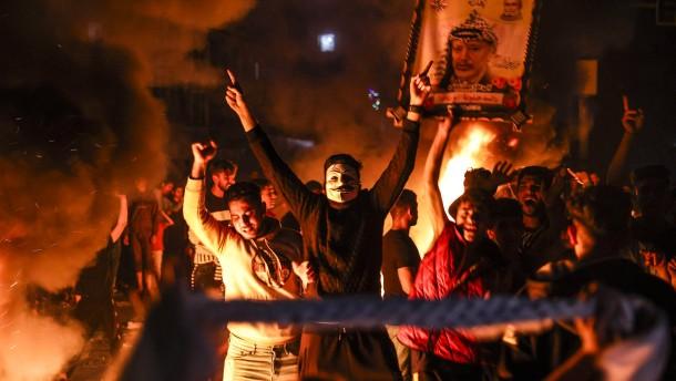 Wieder Zusammenstöße zwischen Palästinensern und israelischer Polizei