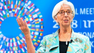Lagarde: Trumps Wirtschaftspolitik ein großes Risiko
