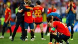 Spanien fliegt bei WM raus