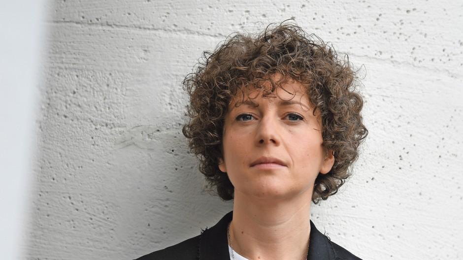 Sasha Marianna Salzmann  im September 2017 in Frankfurt