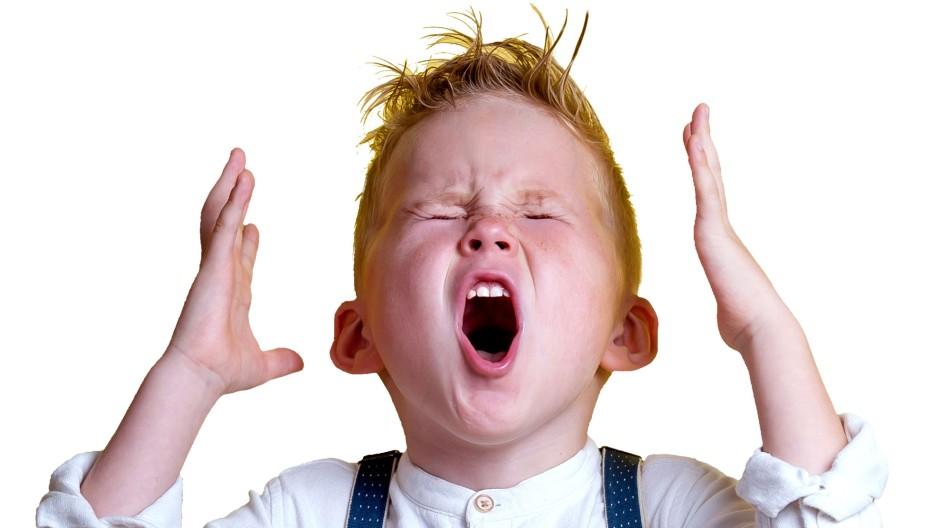 Wut kann bei Kindern viele Gründe haben
