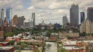 Der Gowanus-Kanal im New Yorker Stadtteil Brooklyn