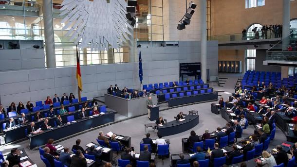 """Der Bundestag und seine """"Sternstunden"""""""