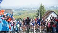 """Steil bergauf: Das Radrennen """"Rund um den Finanzplatz"""", hier 2016 am Mammolshainer Berg, hat in diesem Jahr einen neuen Geschäftsführer."""
