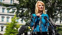 Conway sorgt für nächsten Eklat