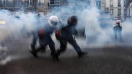 Anklage gegen vier Polizisten nach brutalem Einsatz in Frankreich