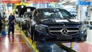 Daimler unter der Dunstglocke