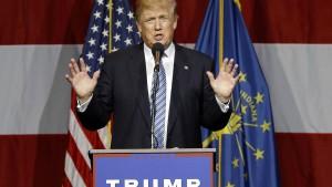 Trump verschiebt Vorstellung seines Vizekandidaten
