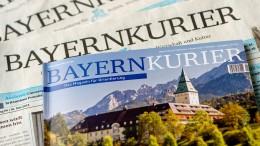 """""""Bayernkurier"""" wird eingestellt"""