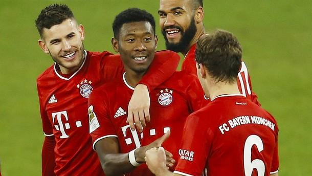FC Bayern rückt in die Top drei auf