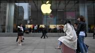 Ein Apple-Store in Schanghai