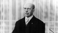 Forderte schon 1952 ein sozialistisches Rechtssystem: Walter Ulbricht