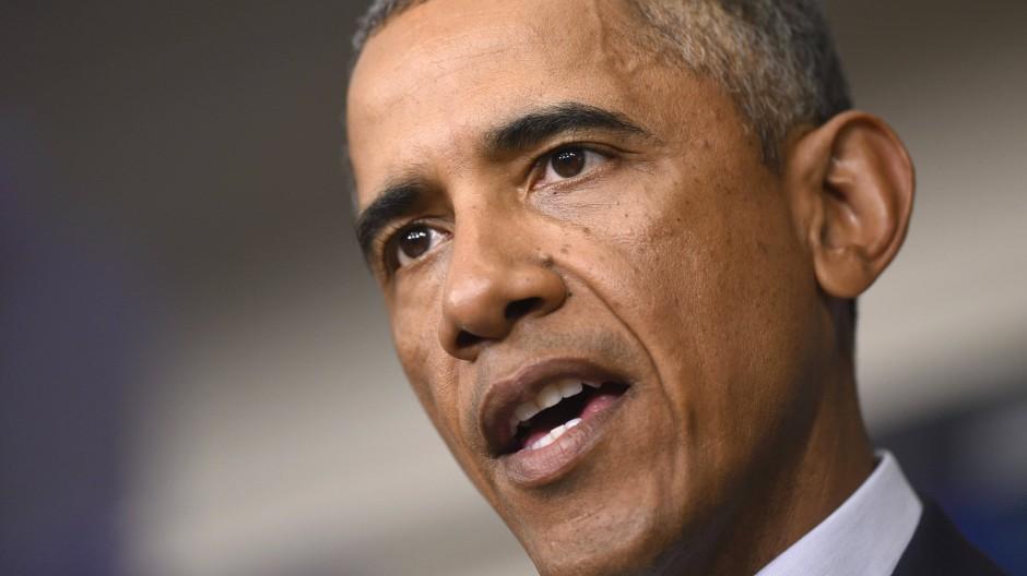 Barack Obama könnte den Kongress um ein robustes Mandat für den Kampf gegen IS bitten