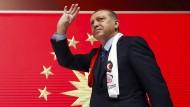 Endgültig auf dem Weg zum Alleinherrscher in der Türkei: Präsident Erdogan am Samstag in Istanbul