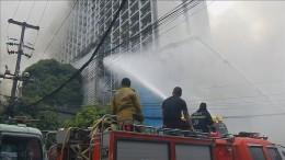 Hotelbrand in Manila