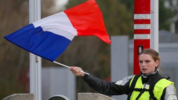 Alarm in Frankreich