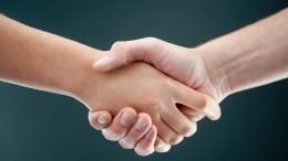 Die Rückkehr des Handschlags