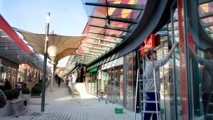 Neue Ladenstraße für das älteste Einkaufszentrum