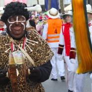 """Wolfgang Schuster vom Karnevalsverein Südend Fulda nennt sein Kostüm: """"Neger vom Südend"""""""