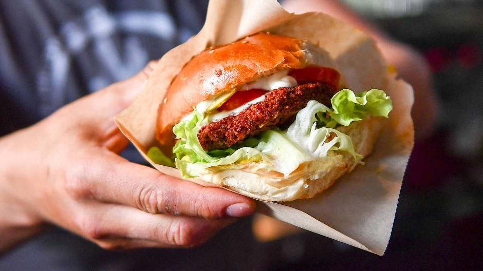 Burger bleibt Burger – auch mit Gemüsepatty