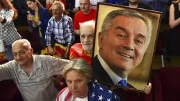 Djukanovic gewinnt Präsidentenwahl in Montenegro