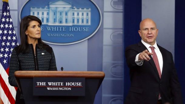 """Amerika hält an """"militärischer Option"""" gegen Nordkorea fest"""