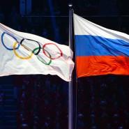 Die russische Flagge wird auch in Rio neben den olympischen Ringen wehen dürfen.