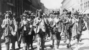 Die bayrische Revolution schreitet voran