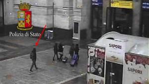 Überwachungskamera filmte Attentäter von Berlin in Mailand