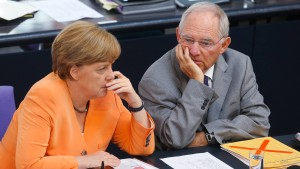 Wolfgang Schäuble ist beliebt wie noch nie