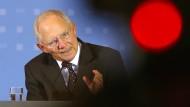 Schäuble warnt vor überraschender Staatspleite Griechenlands