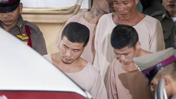 Todesstrafe wegen Mordes an Rucksack-Touristen