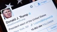Trump und die Medien: Tweets gegen TV