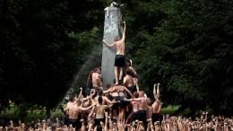 Rauf auf den Fett-Obelisken!