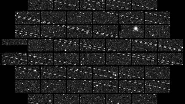 Wie gefährlich sind Starlink & Co. für die Astronomie?