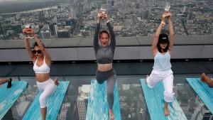 Mit dem eigenen Parfum zum Yoga-Kurs