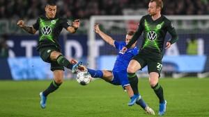 Stimmungsboykott bei Remis in Wolfsburg