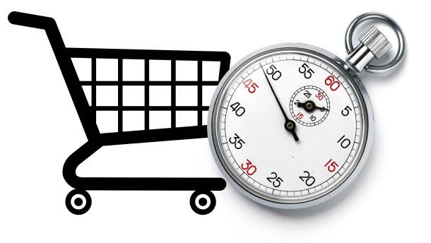 Der richtige Zeitpunkt zum Einkaufen